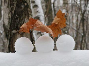 Bolas de nieve (archivo)
