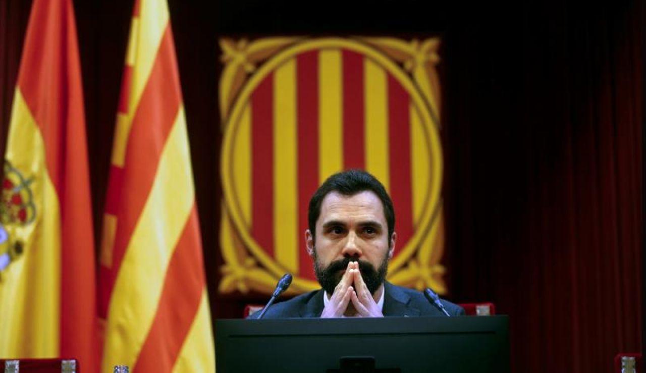 El presidente del Parlament catalán, Roger Torrent (Archivo)