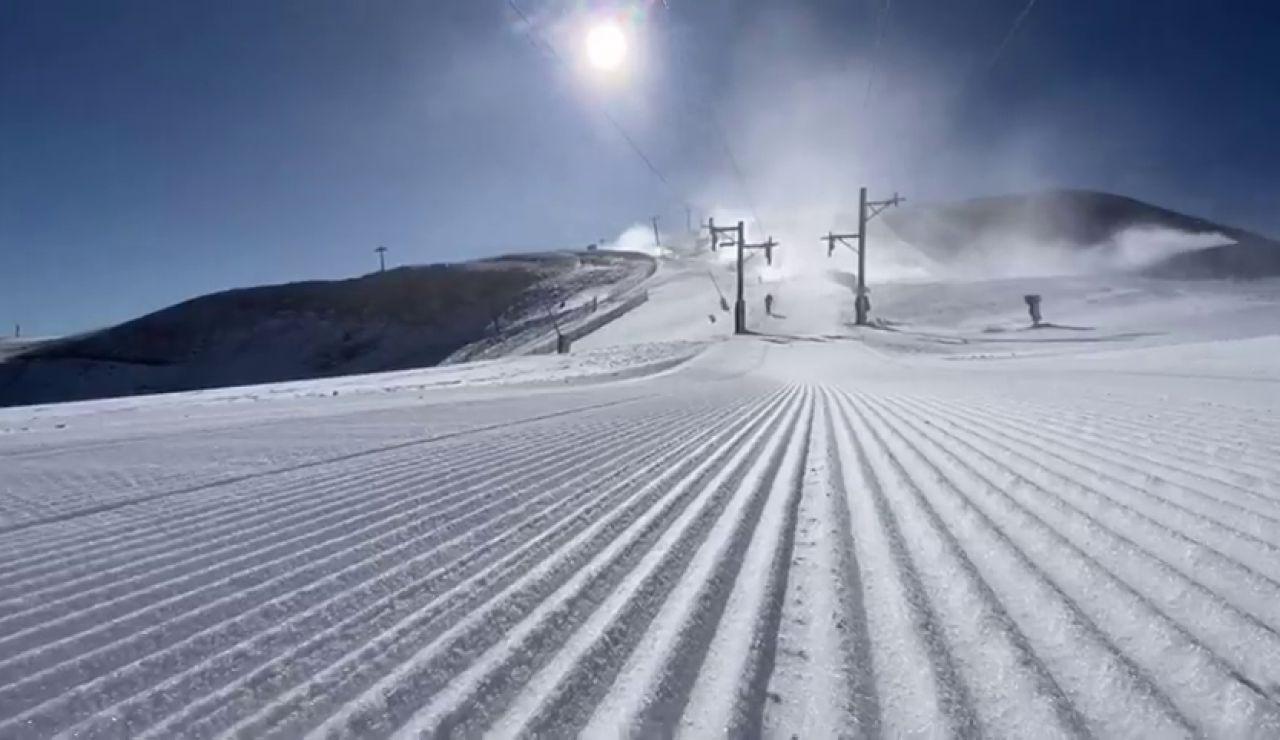 Las estaciones de esquí del Pirineo se preparan para abrir este fin de semana