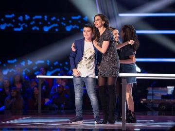 David Bisbal y Niña Pastori se quedan con Maksym Pashnyk en las Batallas de 'La Voz Kids'