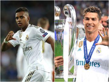 Rodrygo con el Real Madrid