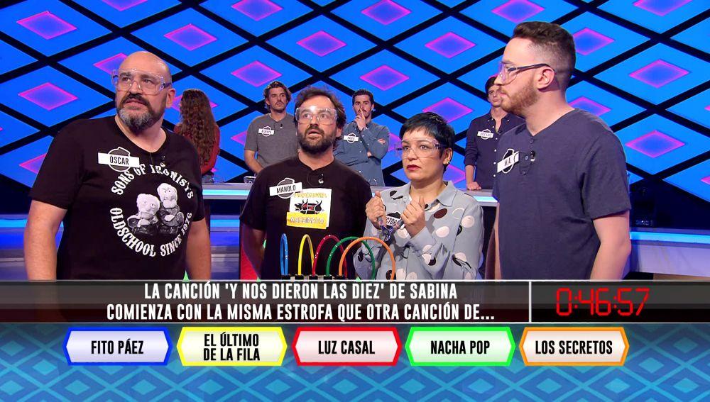 La curiosa anécdota musical que une a Sabina y Los Secretos hace fallar a 'Los dispersos'