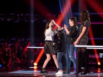 Patricia García pasa a la siguiente fase después de la decisión de Vanesa Martín y Pastora Soler en las Batallas de 'La Voz Kids'