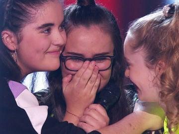 David Bisbal y Niña Pastori se deciden por Ana Escudero en las Batallas de 'La Voz Kids'