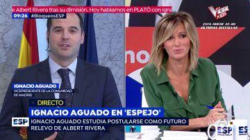 Ignacio Aguado en Espejo Público.