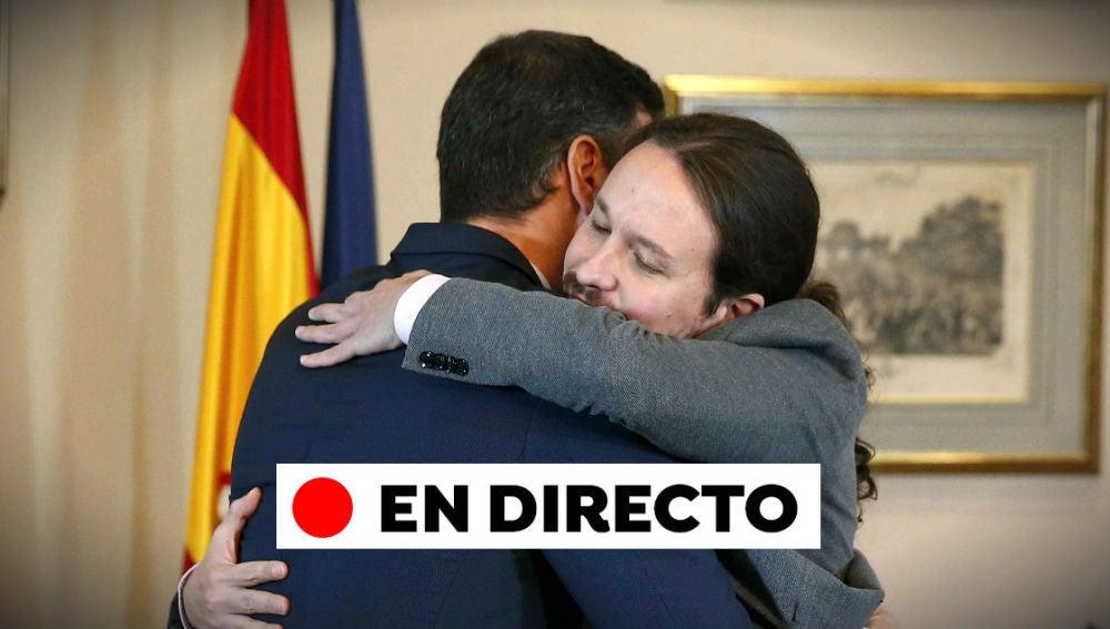 Preacuerdo gobierno de coalición   Todas las reacciones al pacto entre PSOE y Unidas Podemos, en directo
