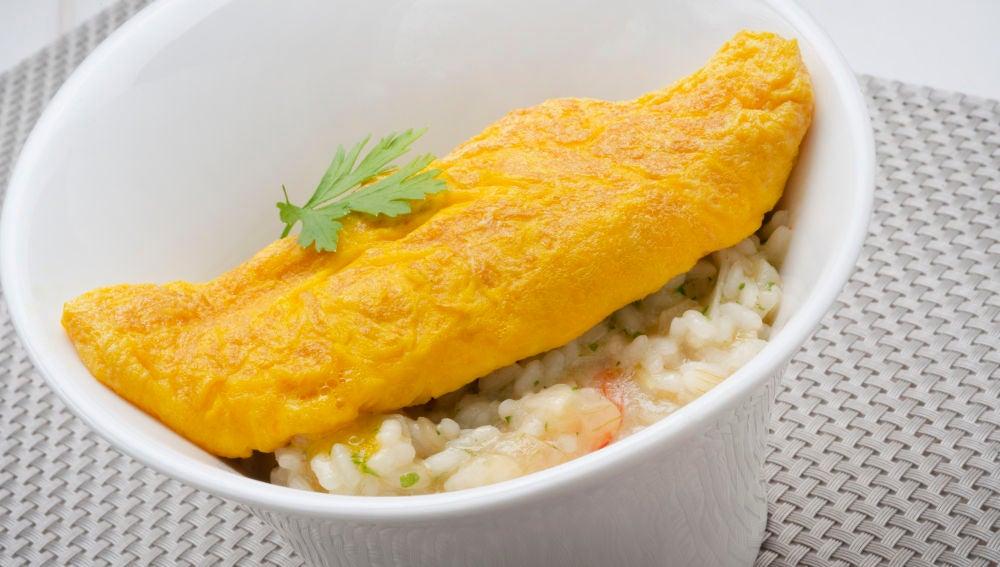 Receta de arroz con tortilla de Karlos Arguiñano