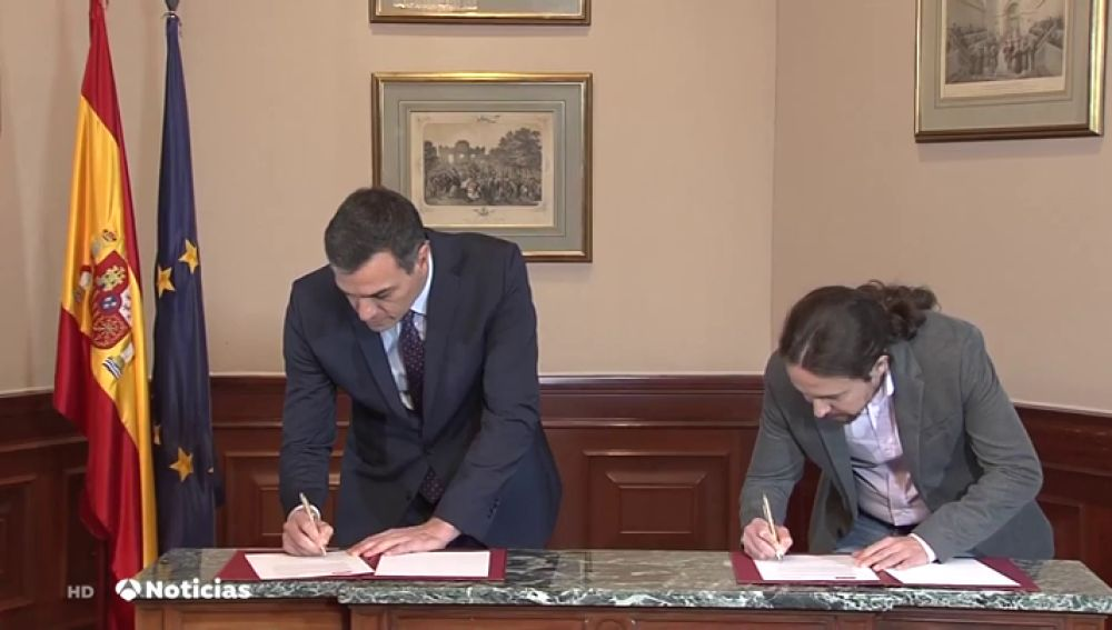 REEMPLAZAR: Así fueron las 48 horas de negociación entre Pedro Sánchez y Pablo Iglesias