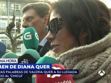 Valeria, hermana de Diana Quer.