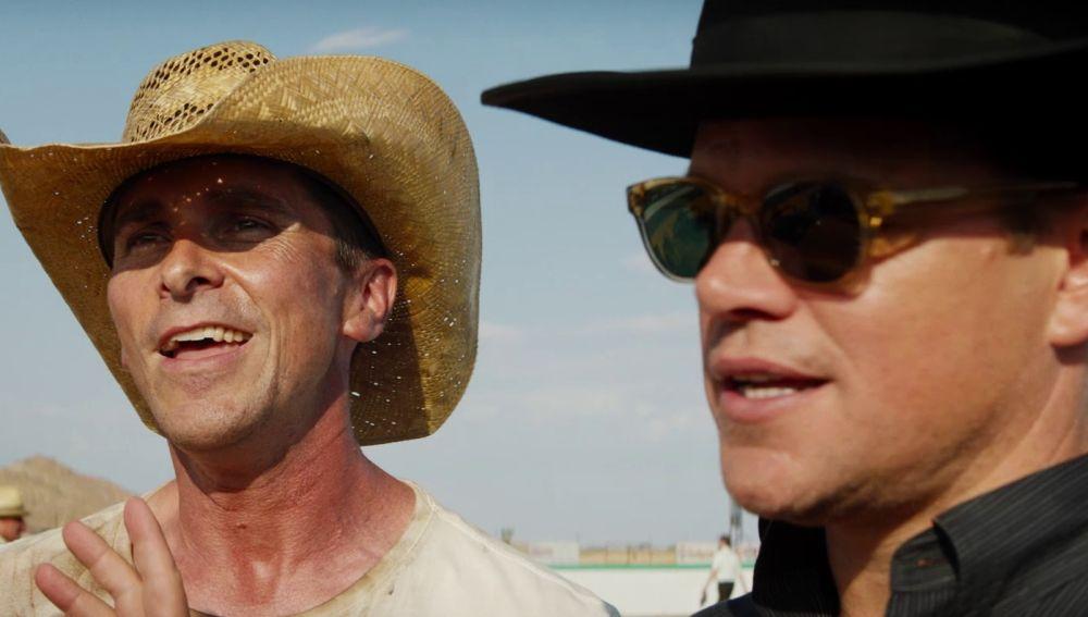 Matt Damon y Christian Bale en 'Le Mans '66'