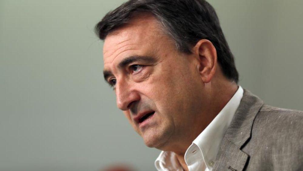 El portavoz del PNV y diputado electo Aitor Esteban
