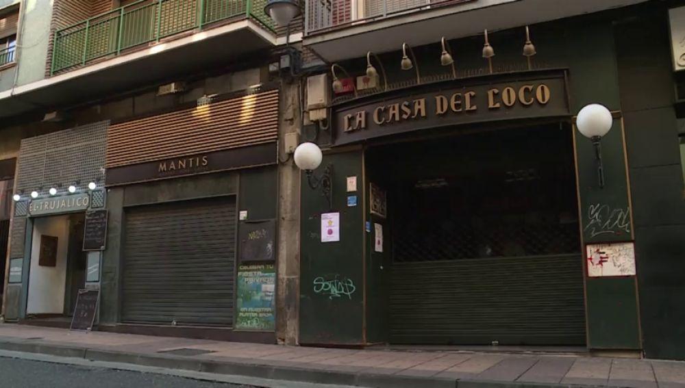 Un joven se queda tuerto tras recibir una paliza por llevar un chaleco con la bandera de España
