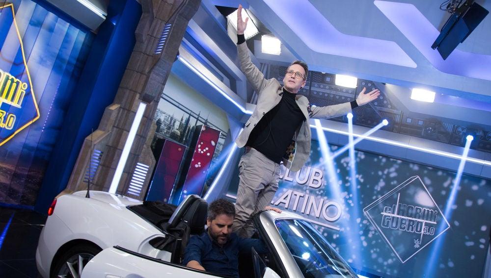 Joaquín Reyes entra en el selecto Club Platino de 'El Hormiguero 3.0'