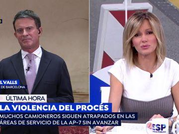 """Manuel Valls sobre el bloqueo en la AP-7: """"Lo que está pasando es una vergüenza"""""""