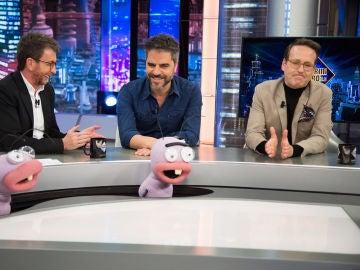 ¿Pizza o hamburgesa? Ernesto Sevilla y Joaquín Reyes, ante el divertido juego de '¿Qué prefieres que desaparezca?'