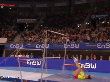 La gimnasia, un deporte muy exigente y con un alto riesgo de sufrir lesiones graves