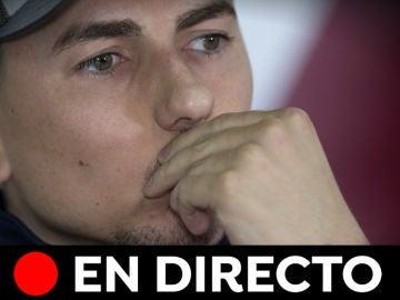 Jorge Lorenzo se retira del motociclismo: Rueda de prensa y última hora, en directo