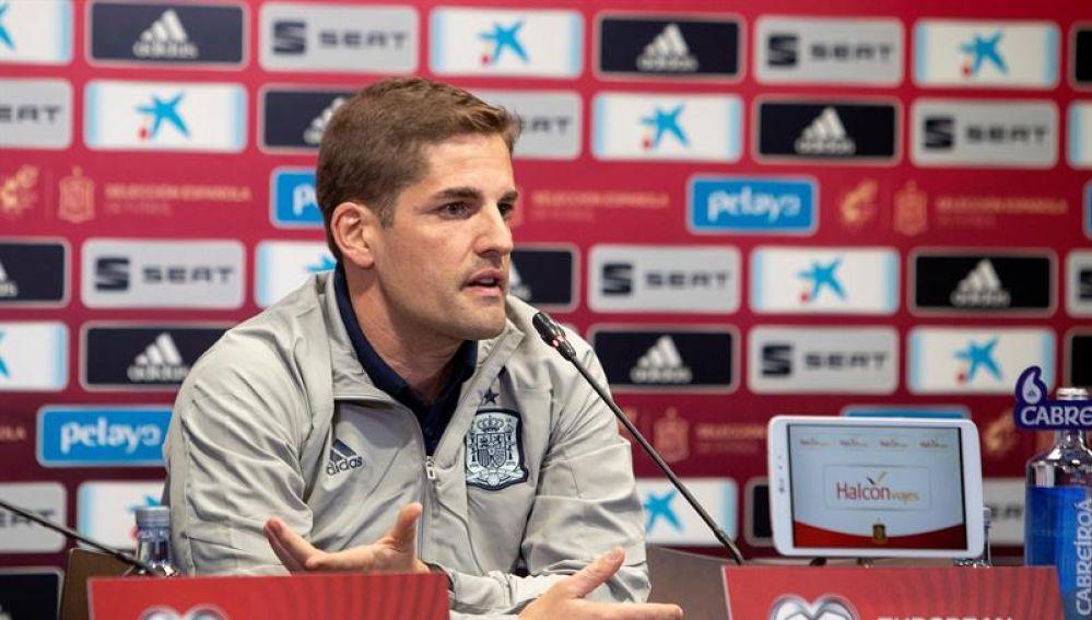 Robert Moreno, seleccionador español.