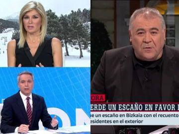 Antena 3 lidera con sus informativos y 'Al Rojo Vivo' sigue líder