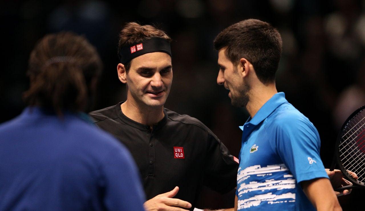 Federer y Djokovic en Londres