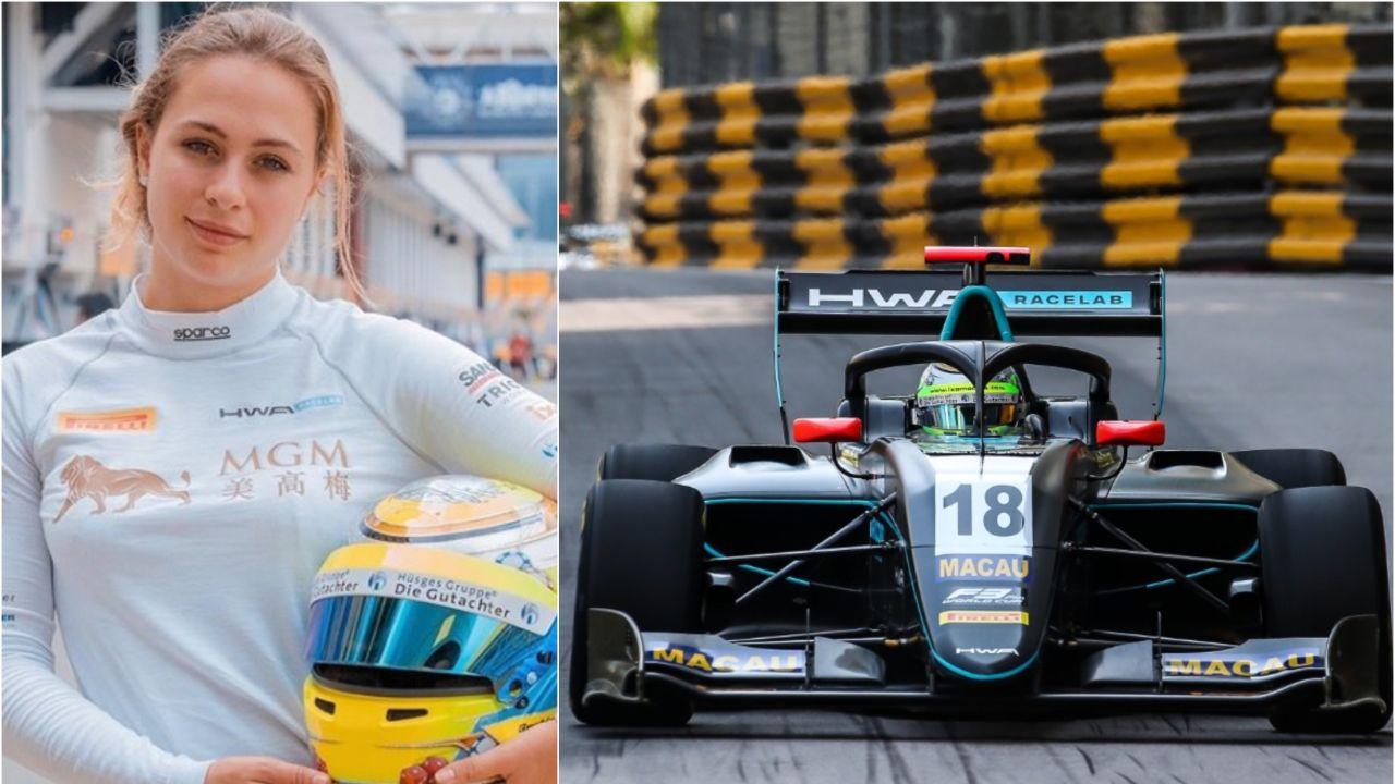 Sophia Floersch Regresa Al Circuito De Macao, Donde Casi