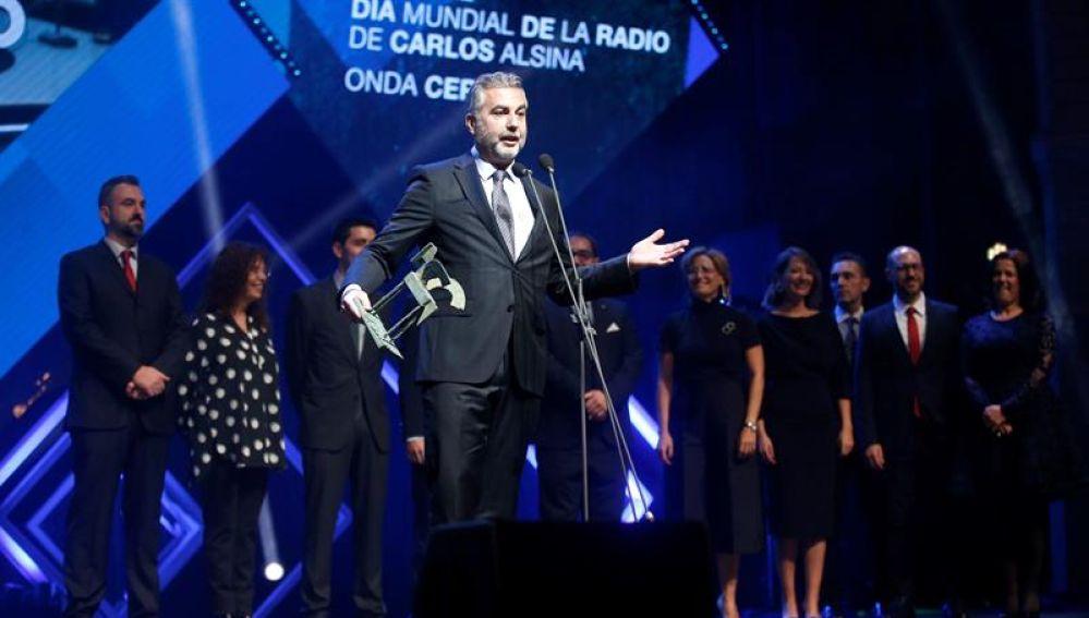 Carlos Alsina recibe el Premio Ondas 2019