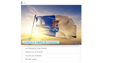 ¿Cuál es la capital de Canarias?