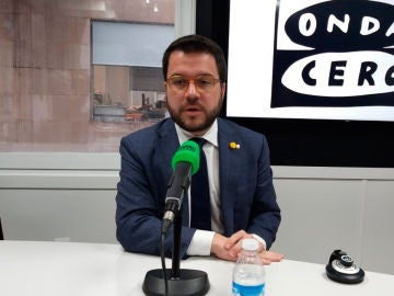 Pere Aragonès en Onda Cero