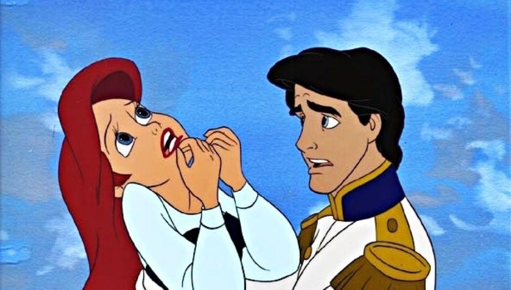 'La Sirenita' y el príncipe Eric
