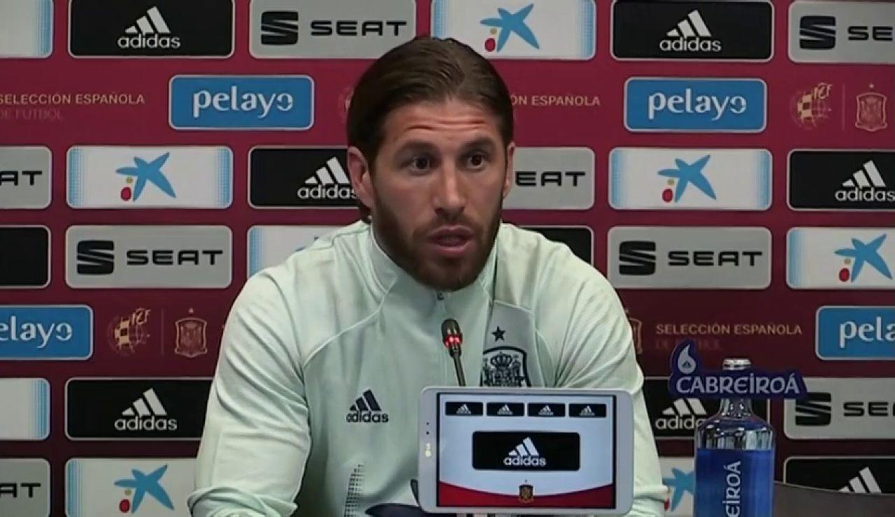 """Sergio Ramos: """"El Real Madrid sale perjudicado con la fecha del Clásico"""""""