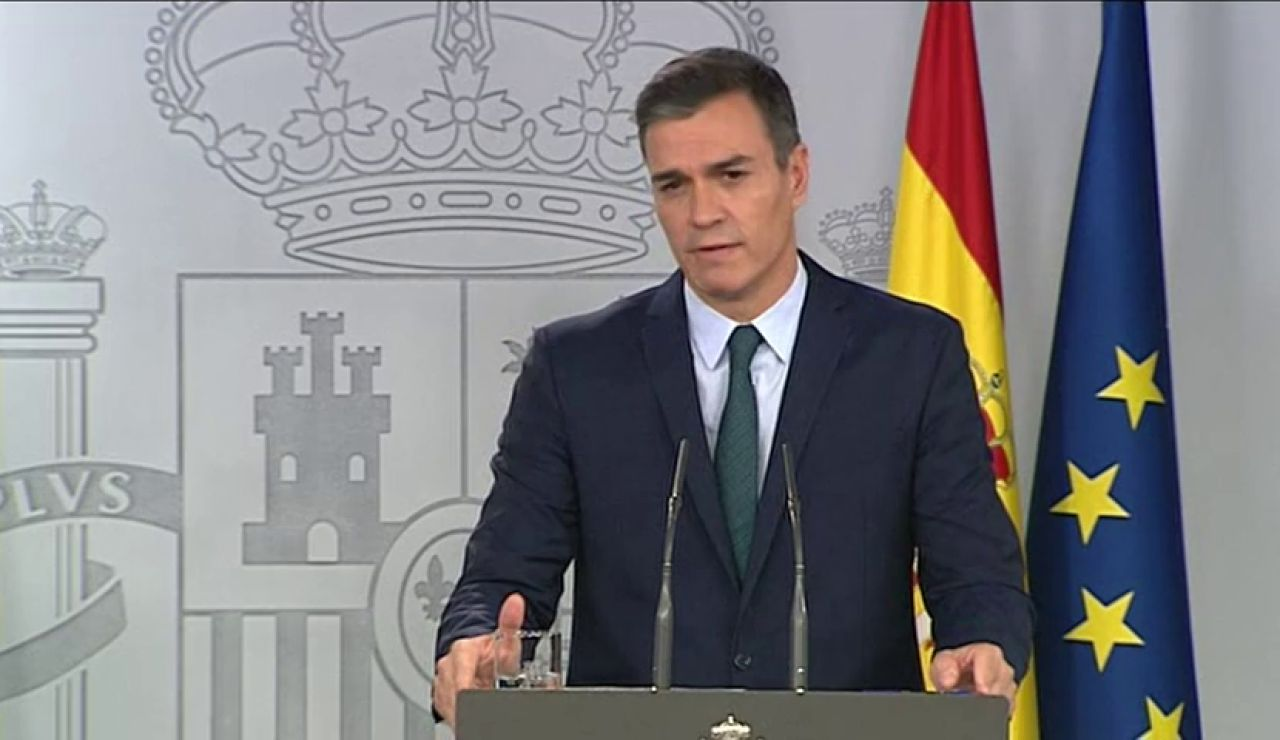 """Pedro Sánchez: """"Los que se opongan al único gobierno que apuesta por el dialogo en Cataluña lo tendrán que explicar"""""""