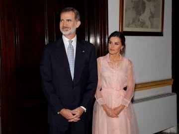 Los Reyes de España en Cuba