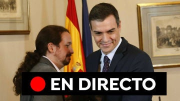 Pacto PSOE-Unidas Podemos: Última hora del acuerdo entre Pedro Sánchez y Pablo Iglesias, en directo