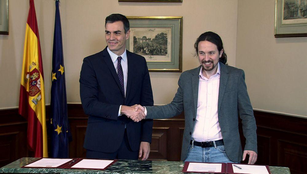 laSexta Columna: Sánchez e Iglesias laSexta Columna: Sánchez e Iglesias contra el Dr. No (Programa 274) contra el Dr. No (Programa 274)