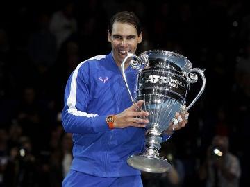 Rafa Nadal, número uno del tenis mundial