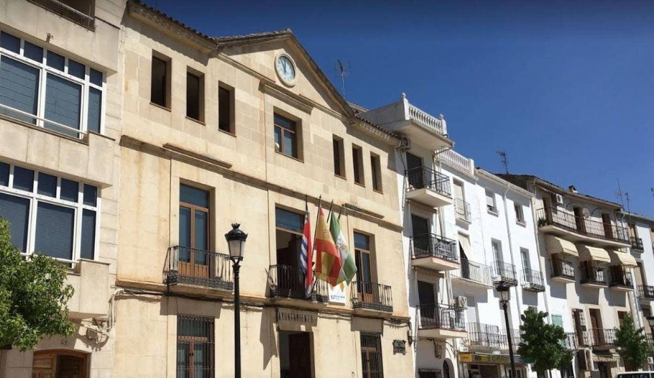Fachada del Ayuntamiento de Beas de Segura