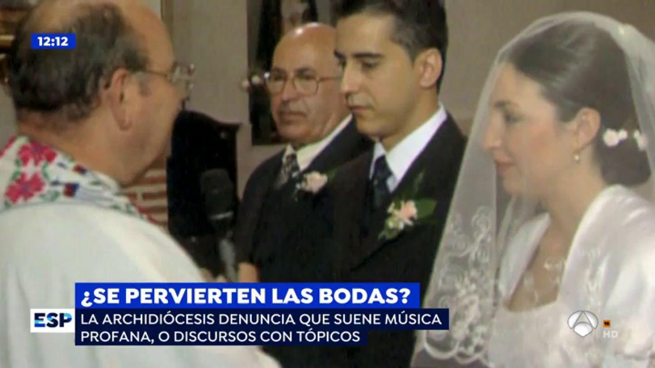"""La Archidiócesis de Sevilla: """"Deben acabarse las bodas de escaso gusto e inapropiadas"""" - Antena 3"""