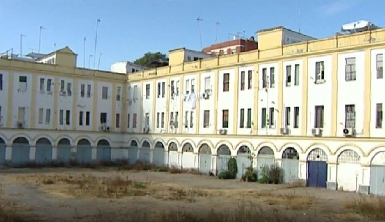Imagen del edificio Los Pinillos, en Sevilla