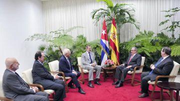 El Rey se reúne con Raúl Castro