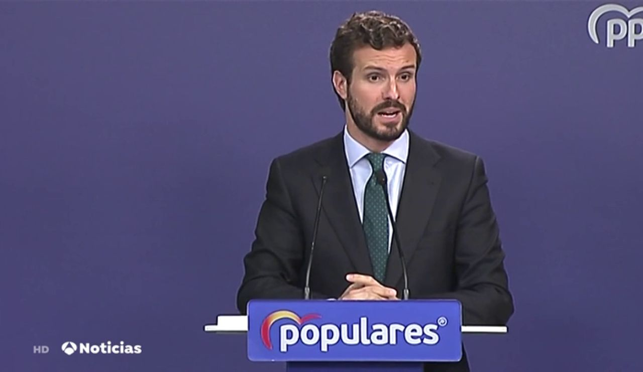 Crece la presión en el PP para que Casado ofrezca una propuesta clara de Gobierno a Sánchez
