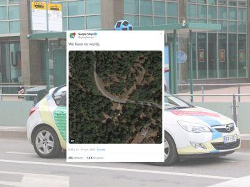 Tuit de Google Maps