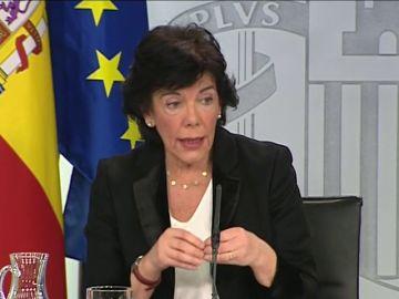 """Isabel Celaá sobre su polémica con la educación concertada: """"Las familias no tienen nada que temer"""""""