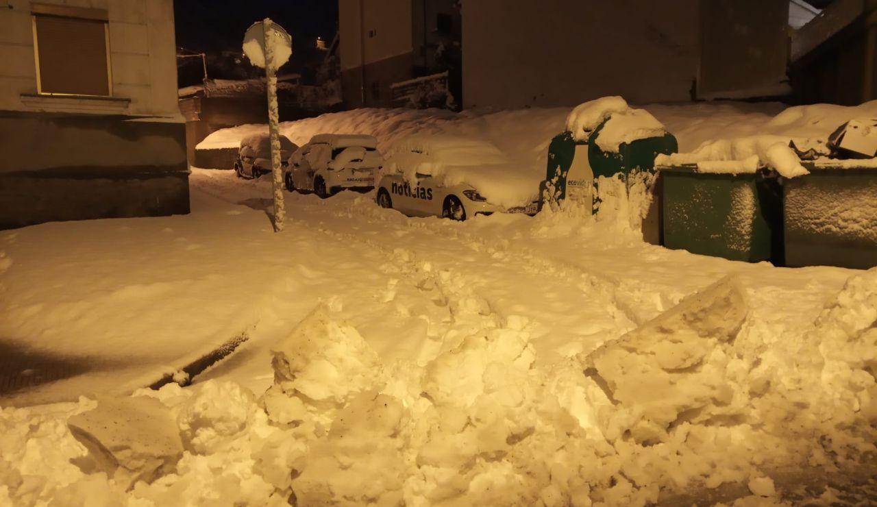 Alerta en varias comunidades por nieve
