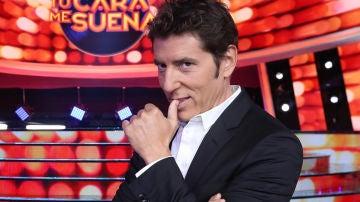 Manel Fuentes, presentador de 'Tu cara me suena'