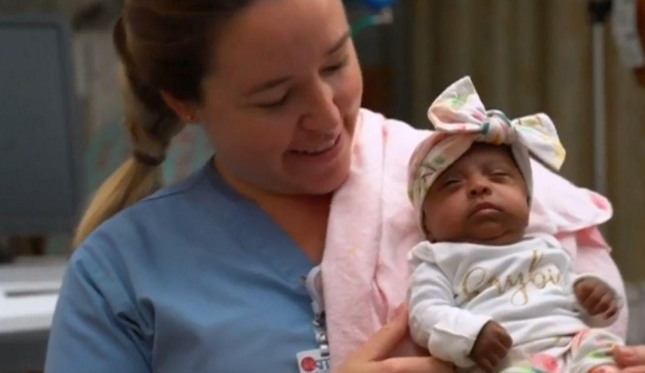 Saybie, la bebé superviviente más pequeña del mundo