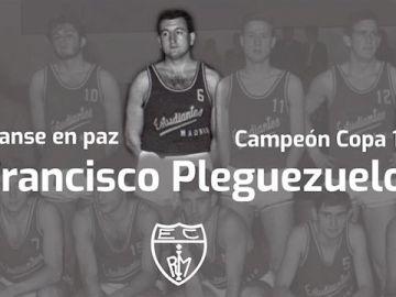 Francisco Pleguezuelos una leyenda de Estudiantes