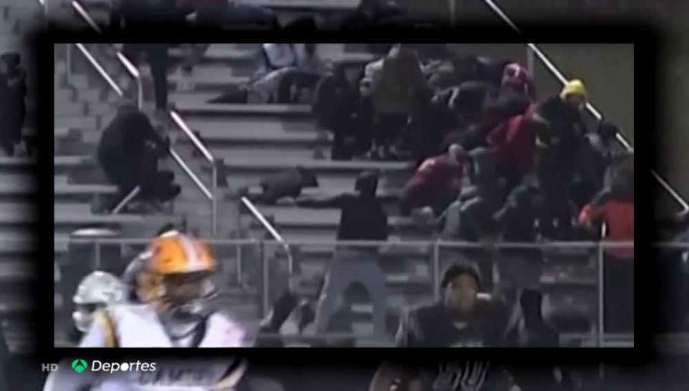 En estado crítico el niño de diez años que recibió un balazo en el cuello durante un partido de fútbol americano