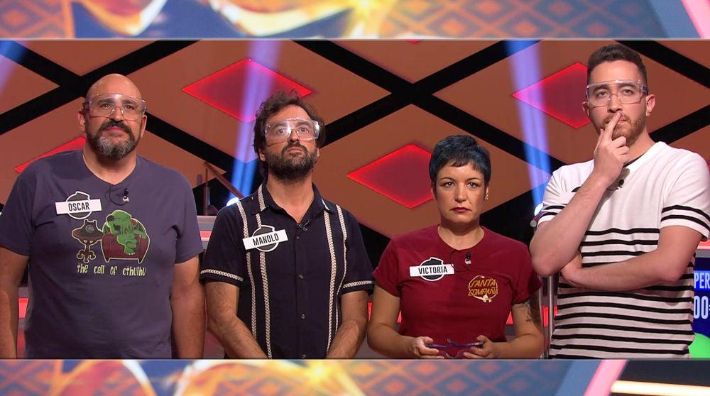 Las preguntas que alejaron a 'Los dispersos' del gran premio en '¡Boom!'
