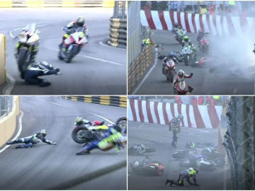 El tremendo accidente durante el GP de Macao