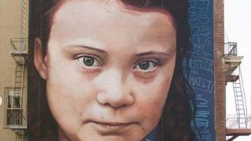 Dibujo de Greta Thunberg